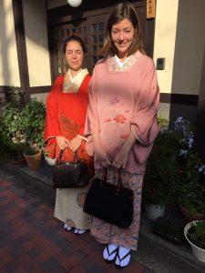 Kimono sur le seuil