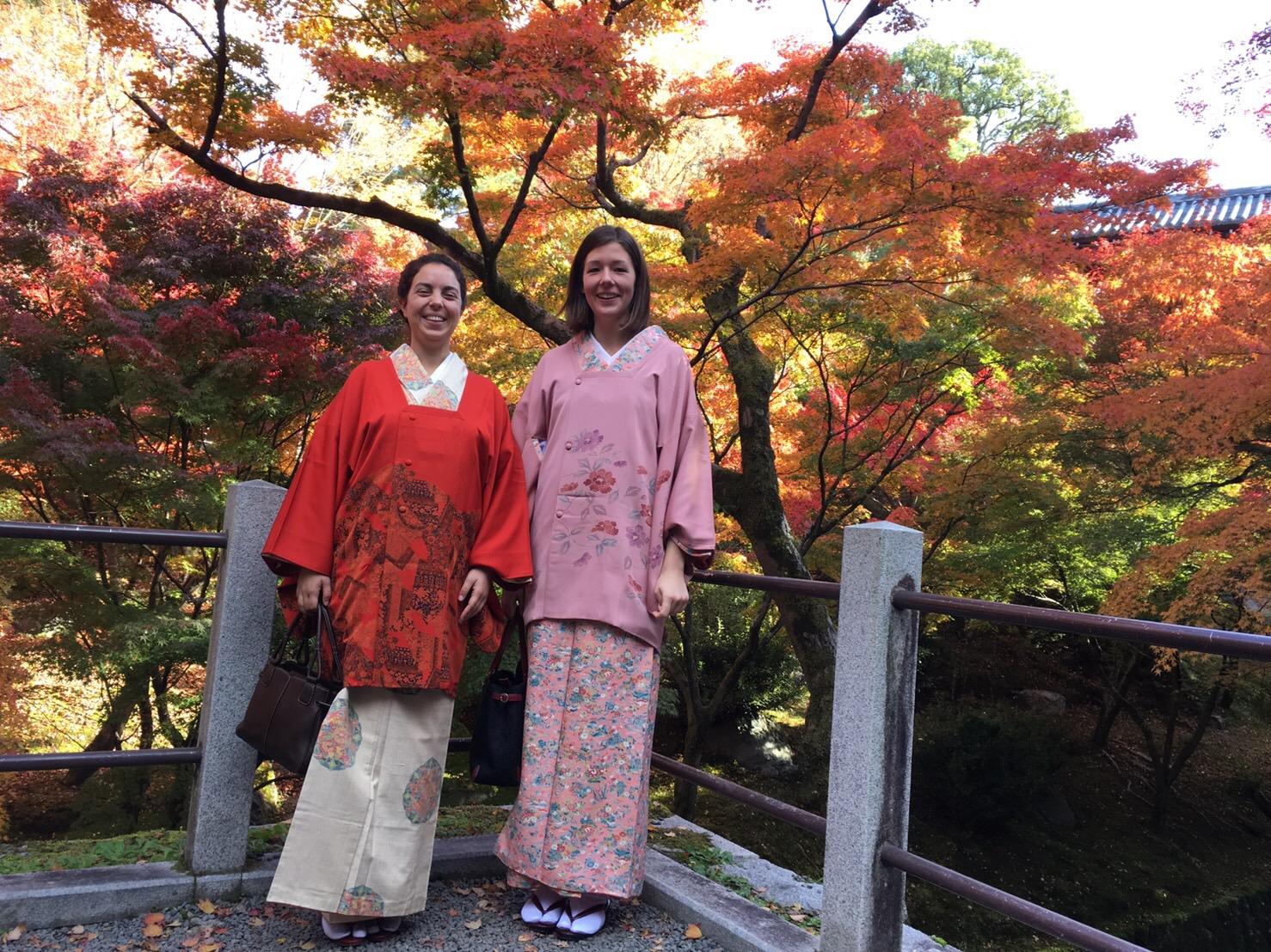 Kimono au Tofukuji