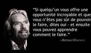 Oui opportunité Richard Branson